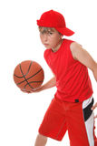 Playing basketball Stock Photography