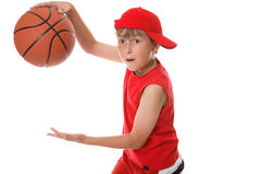Playing basketball Royalty Free Stock Photography