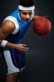 Playing basketball Royalty Free Stock Photo