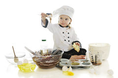 Playing with the Batter Stock Images