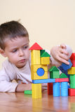 Playing with blocks Stock Photography