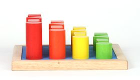 Playing blocks Stock Image