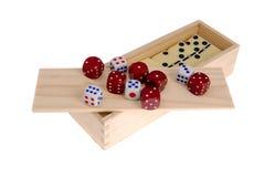 Free Playing Bones Stock Image - 27963721
