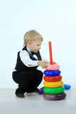 The playing boy Royalty Free Stock Images