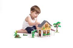 Free Playing Boy Stock Image - 39989941