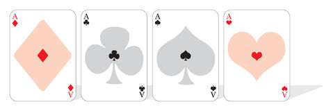 Playing card Royalty Free Stock Images