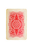 Playing card. Isolated on white background Royalty Free Stock Photo