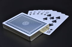Playing card Royalty Free Stock Photo