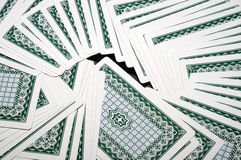 Playing card. It is playing card, inversed Royalty Free Stock Photo