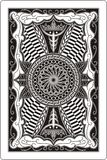 Playing Card 60x90 Mm Back Side Royalty Free Stock Image