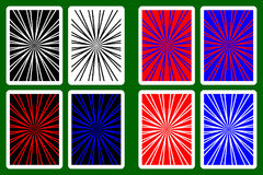 Playing Card Back Royalty Free Stock Photo