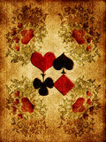 Playing Card Back Side Stock Photos
