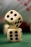 Playing Card Chips And Dice Royalty Free Stock Photos