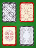 Playing card deck design Stock Photo
