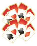 Playing card design Stock Image