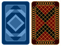 Playing Card Design. Stock Photo