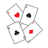Playing card. Game vector for fun vector illustration