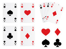 Playing card set Stock Photo