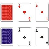Playing card set 02 Stock Photos
