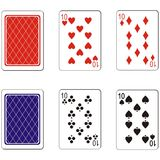 Playing card set 03 Royalty Free Stock Photos