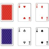 Playing card set 05 Royalty Free Stock Photos