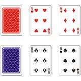 Playing card set 07 Royalty Free Stock Photography