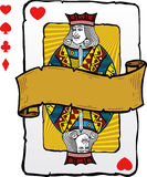 Playing card style Jack illustration Royalty Free Stock Photo