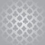 Playing Card suits pattern royalty free illustration