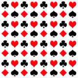 Playing Card Suits Stock Photo