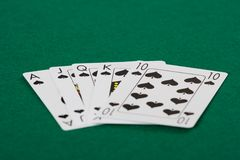 Playing cards_01 Stock Image