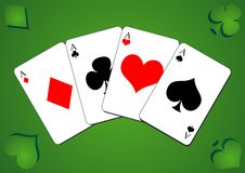 Playing cards_01 Stock Images