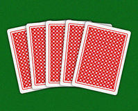 Playing-cards Royalty Free Stock Photography