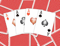 Playing-cards Stock Image