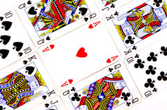 Playing cards Royalty Free Stock Image