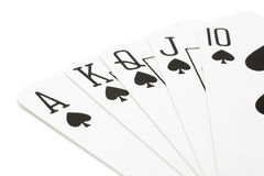 Playing Cards. Close up of Playing Cards stock images