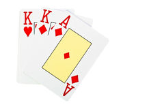 Playing cards. Stock Photo