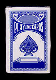 Playing cards. On a black background Royalty Free Stock Image