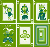 Playing cards 4/8 Stock Image