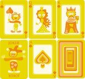 Playing cards 6/8 Stock Photos