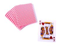 Playing-cards Royalty Free Stock Photos