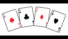 Playing cards stock illustration
