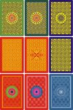 Playing Cards Back Side 60 X 90 Mm Royalty Free Stock Photography