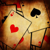 Playing cards background Royalty Free Stock Image