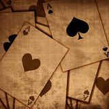 Playing cards background Royalty Free Stock Photos