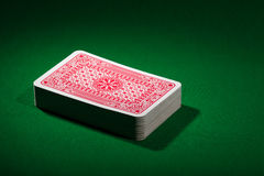 Playing cards deck Stock Image