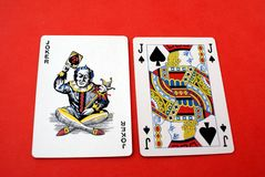 Playing cards. Royalty Free Stock Image