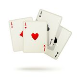Playing cards icon Royalty Free Stock Photos