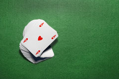 Playing cards isolated Stock Images