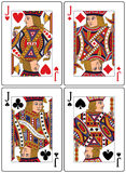 Playing Cards - Jacks Royalty Free Stock Image