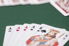 Playing cards Royalty Free Stock Photography